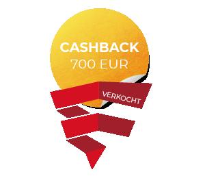 Cashback 700 EUR